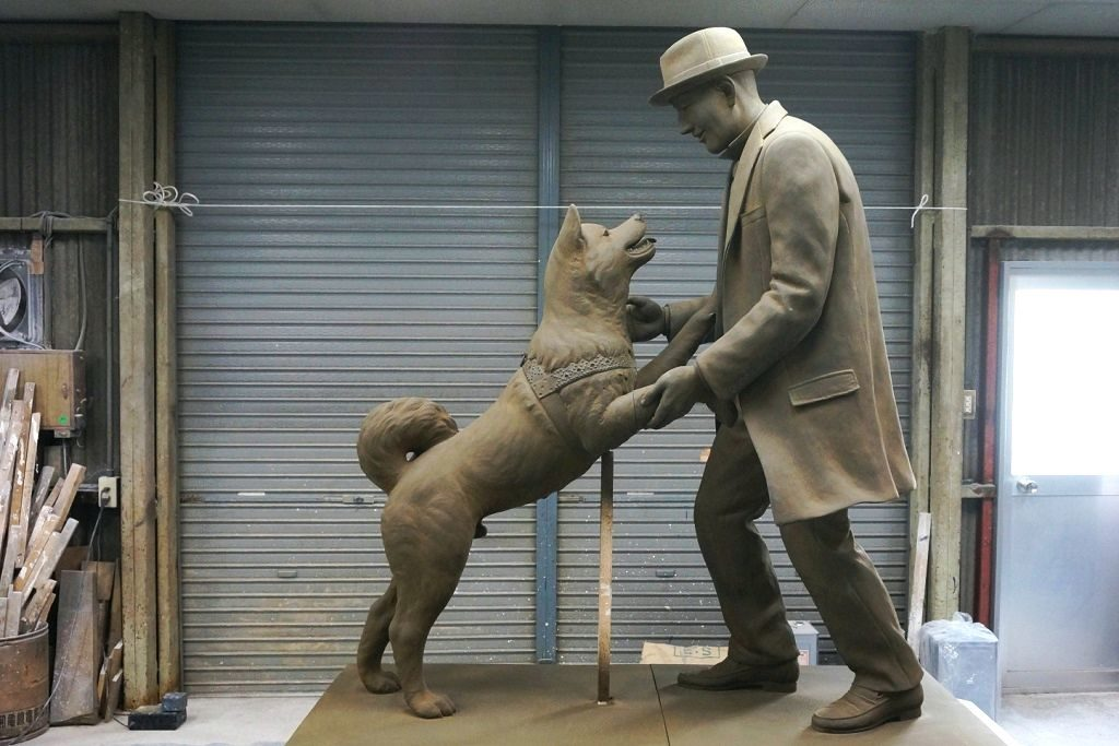 Хатико порода собак акита ину